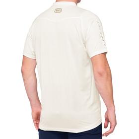 100% Celium Enduro/Trail Maillot Hombre, blanco/beige